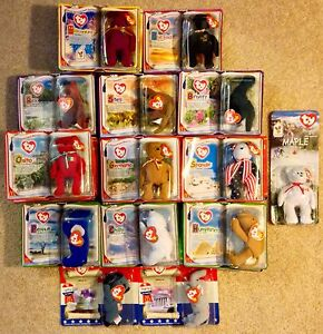 Collection of 33 McDonald s Happy Meal Ty Beanie Babies + Extras ... 77724dae864