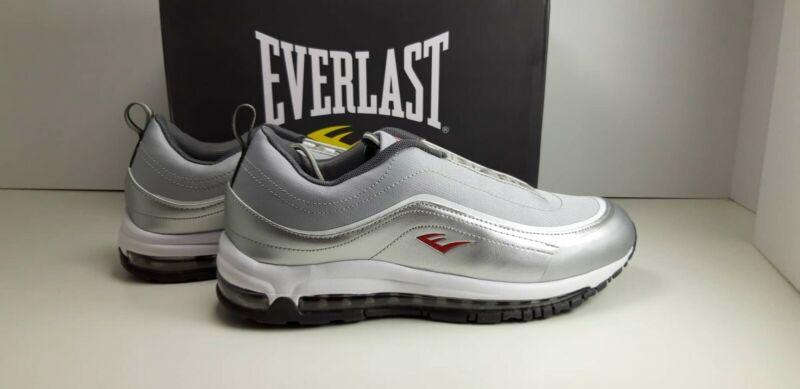-scarpe N 40 Everlast Grigio Argento Sneakers Basse Mod.silver Rx-400