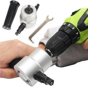 Electric-Double-Head-Sheet-Metal-Nibbler-Saw-Cutter-Cutting-Tool-Air-Drill-DB