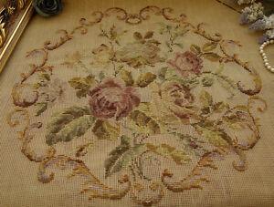 Image Is Loading 63 034 HUGE VTG SET Rose Floral Tramme