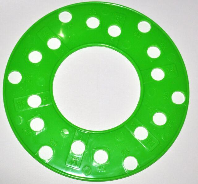 SAE 60 Lug Wheel Bolt Pattern Template Tool Guide Gauge Measure Classy Wheel Bolt Pattern Tool