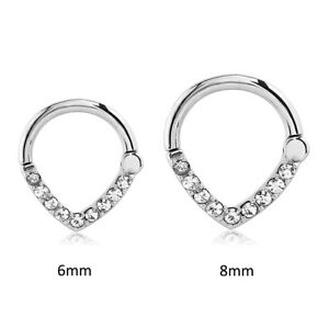 Hinged-Septum-Clicker-316L-Surgical-Steel-Nose-Ring-Hoop-Ear-Cartilage-16G-14G