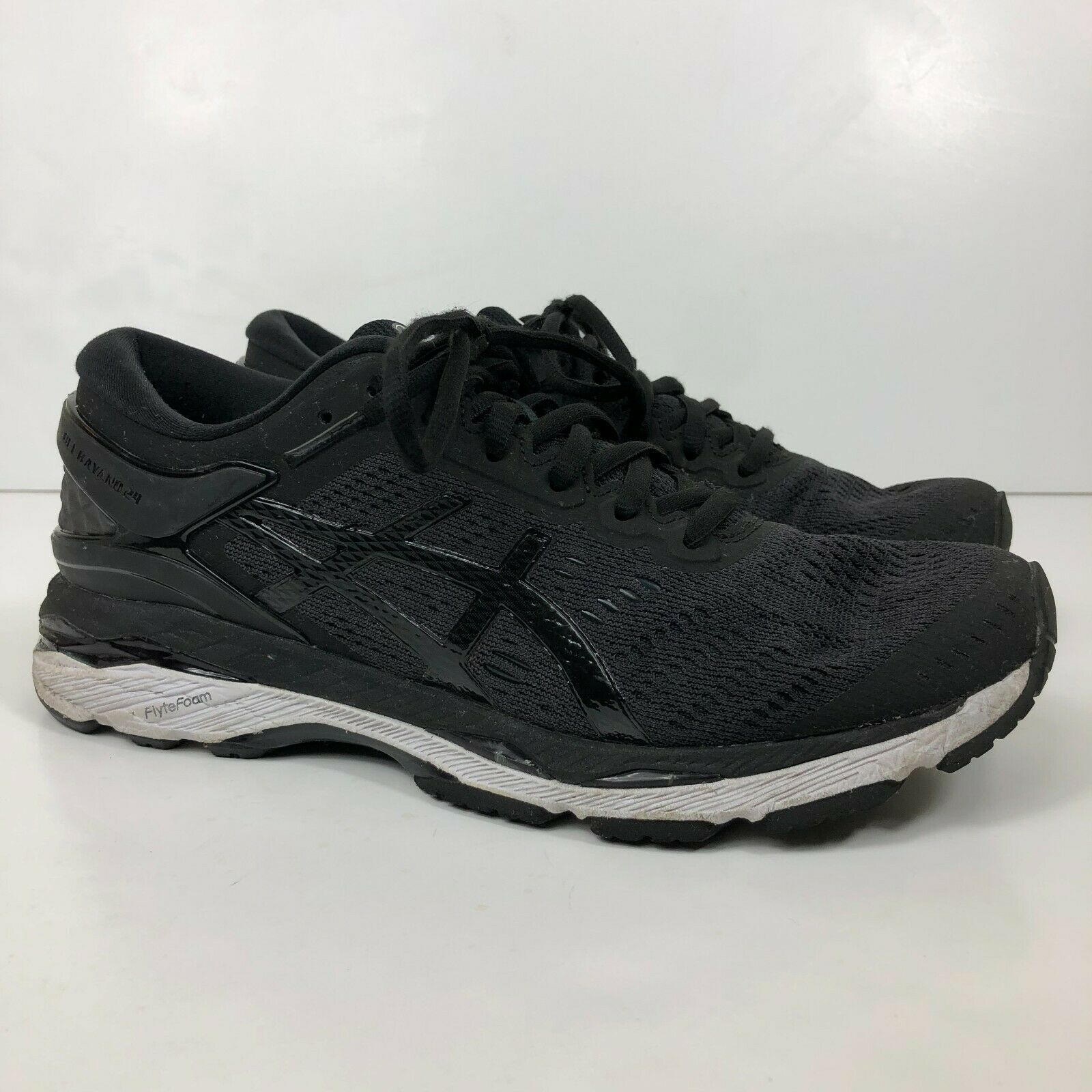Tomate Seleccione cuidadosamente  ASICS Women's GEL Kayano 24 Running Shoes Black Phantom White Size 12 US  for sale online | eBay