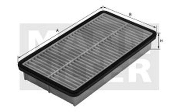 MANN-FILTER Filtro de aire TOYOTA COROLLA MAZDA XEDOS EUNOS 800 C 2731/1