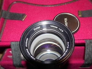 CANON Vivitar Objektiv 135 mm 1:2.8 d:55 mm auto telephoto - Lorch, Deutschland - CANON Vivitar Objektiv 135 mm 1:2.8 d:55 mm auto telephoto - Lorch, Deutschland