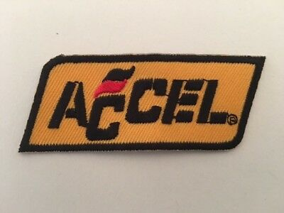 NEUF 7.5*3 CM ACCEL A395 //// ECUSSON PATCH AUFNAHER TOPPA