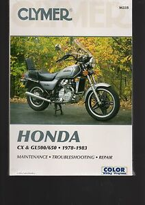 HONDA-CX-amp-GL500-650-1978-1983-MAINTENANCE-TROUBLESHOOTING-REPAIR-MANUAL