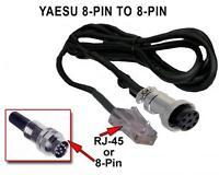 Yaesu 8-pin Microphone Mic To Rj-45 Or 8-pin Male Or Female (kenwood, Icom, Etc)