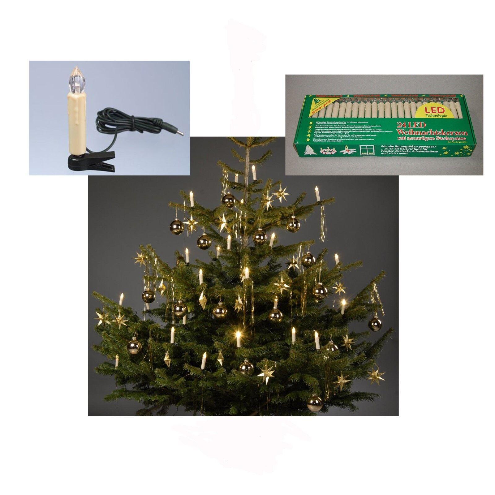 2x Cadena de Luces Led Abetos árbol Iluminación Navidad Interior Cristiano