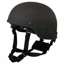 Medium Black MICH Level IIIA Advanced Combat Tactical Military Kevlar Helme
