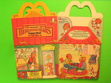 1987 McDonalds HM Box - Berenstain Bears II - Bear Country General Store