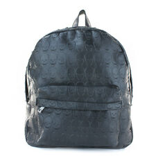 Rock Punk Skull Rivet Backpack School Shoulder Bag Black Fashion Book  Rucksack