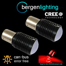 207 1156 BA15s 245 CANBUS ERROR FREE RED CREE LED TAIL REAR LIGHT BULBS TL202601