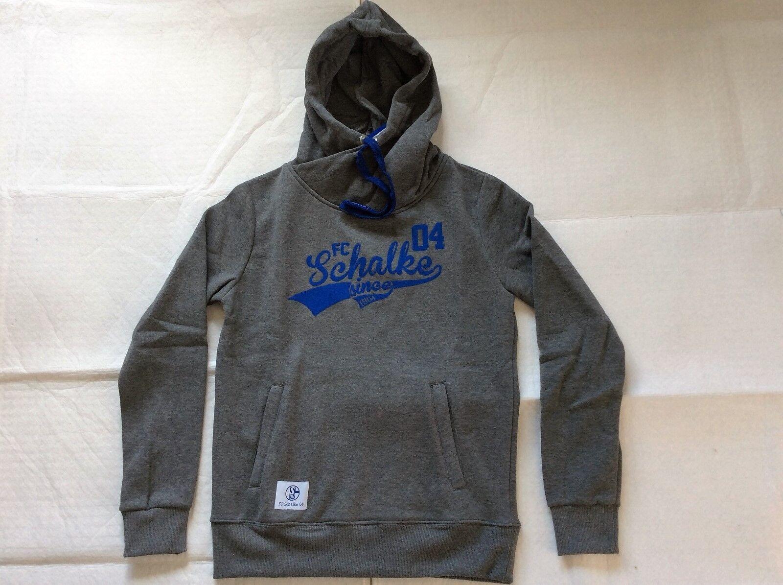 S04 FC Schalke 04 Damen-Kapuzen-Sweat-Shirt   Schalke     Gr. M - 2XL