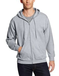 Men/'s EcoSmart Fleece Sweatshirt Warm casual Plain Sz S Pack of 2 Hanes 5XL