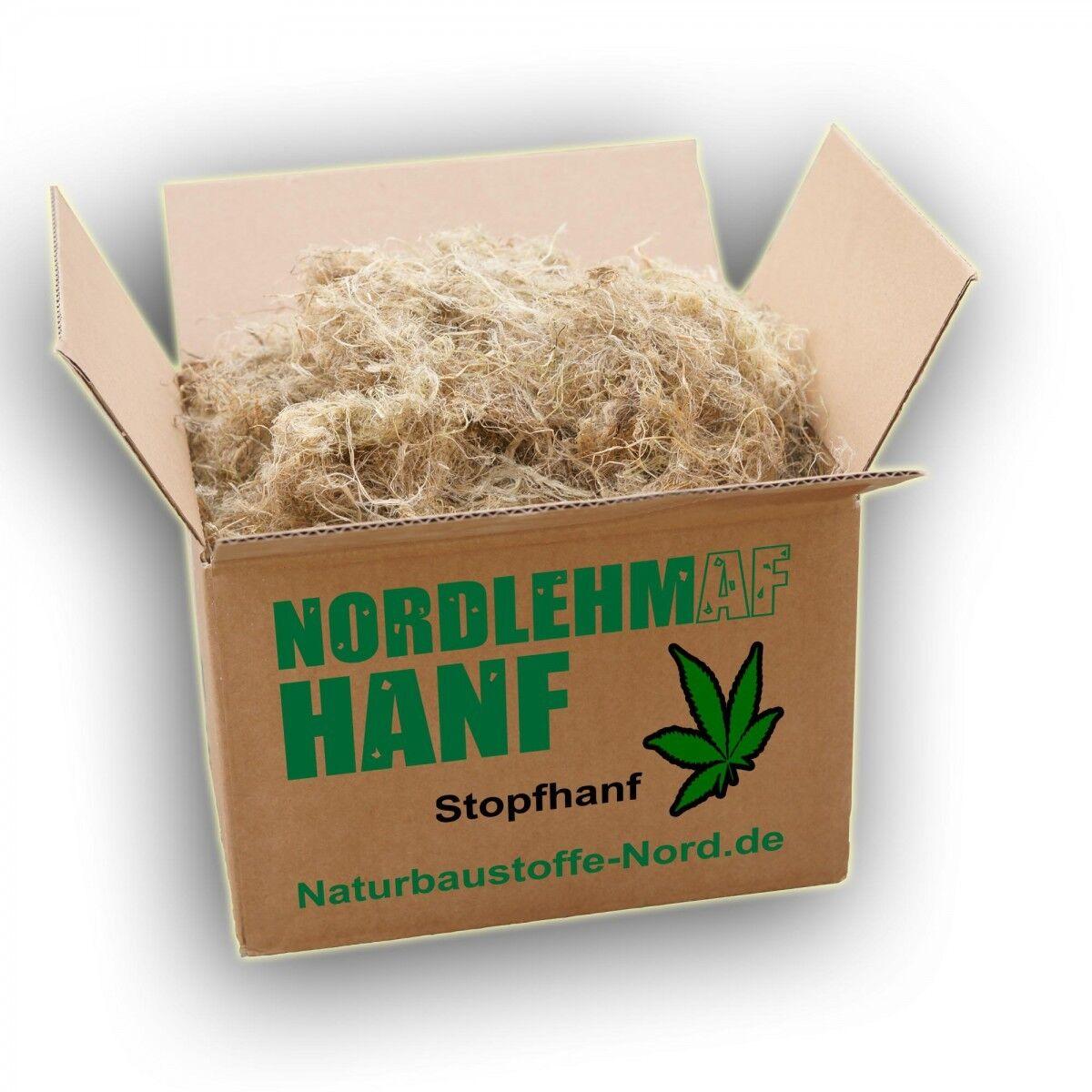Stopfhanf 15kg Hanf Hanffasern Lehmbau Lehm Altbau Fuge ( /1kg)