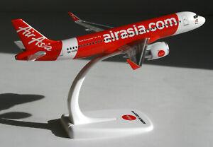 Air Asia-airbus A320neo 1:200 Herpa Snap-fit 612081 Avion A320 Neo Airasia-afficher Le Titre D'origine Pzdaxsnv-07161920-996898514