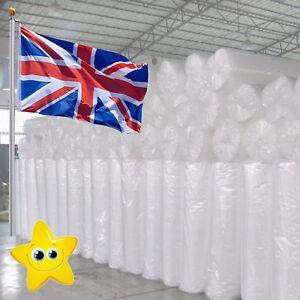 UK BUBBLE WRAP SMALL & LARGE BUBBLE - EUROPES CHEAPEST 300 500 750mm 50 / 100m