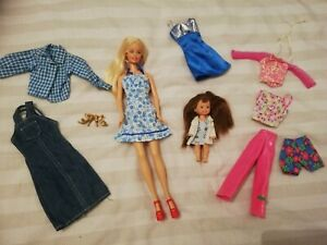 Vintage Barbie Bundle 3 Dolls Clothes Accessories Ebay