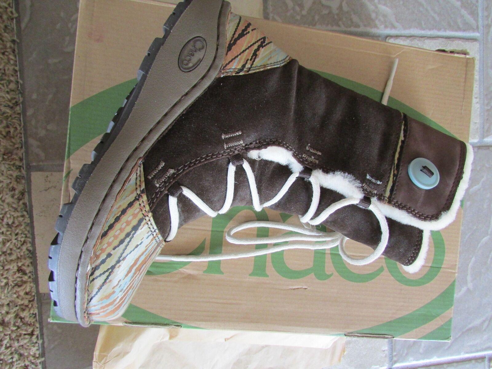 Nuevo Hlaalu Baa Baa Baa Oveja Chaco Forrado botas De Invierno Para Mujer 7 14b431