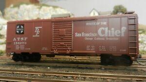 Athearn-BB-40-039-Boxcar-Santa-Fe-San-Francisco-Chief-Upgraded-Exc