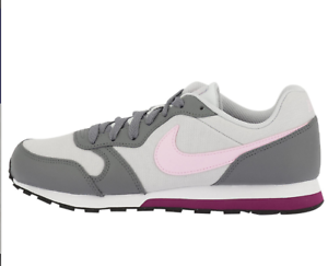 SCARPE-NIKE-DONNA-MD-RUNNER-2-GS-807319-017-PURE-PLATINUM-PINK-ROSA-GRIGIO-NEW