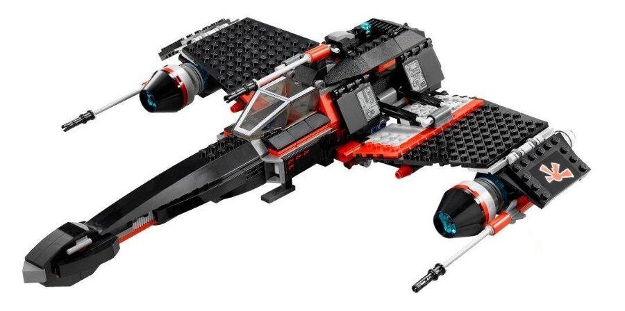 LEGO 75018 - Star Wars - Jek-14's Stealth Starfighter - NO Mini Figs   BOX