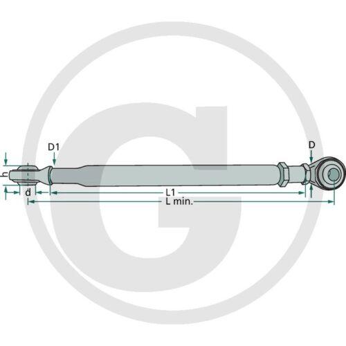 Stabilisatorstrebe verstellbar 465-570/_Spannkette/_Stabilisatorkette/_Dreipunkt/_