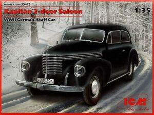 ICM-1-35-Kapitan-2-door-Saloon-II-Guerra-Mundial-Aleman-Baston-coche-35476