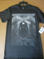 Dc Shoes Co Usa Roaring Bear T-shirt Black Small With Tags