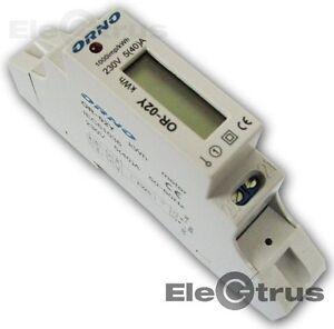 Stromzaehler-Strom-zaehler-Elektrozaehler-OR-WE-501-ORNO-Digitale-230V-5-40-A
