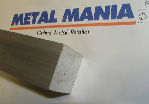 Aluminium 1 1/2square bar x 100mm long