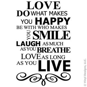 Live Laugh Love Quote New Live Laugh Love Smile Quote Vinyl Wall Decal Sticker Artwords