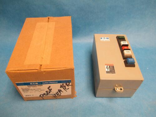 Cutler-Hammer Starter ECN0501AQA Size 0 Nema 1 Enclosure New Surplus