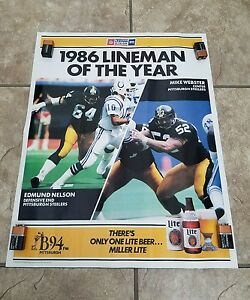 Pittsburgh Steelers Lineman Of The Year Mike Webster