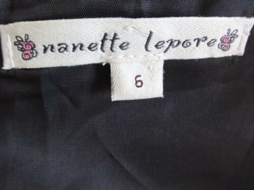 pieghe con Lepore in a taglia lana 6 Nanette misto Gonna gonna WagqxwOfc8