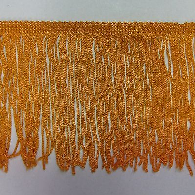 """6/"""" brown chainette  Fringe Lampshade Lamp Costume Trim by the Yard,dance dress"""