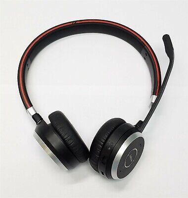 Jabra Evolve 65 Ms Duo Wireless Bluetooth Pc Headset Ebay
