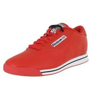 897c12f0658 Image is loading REEBOK-PRINCESS-RED-J95025-WOMENS-US-SIZES