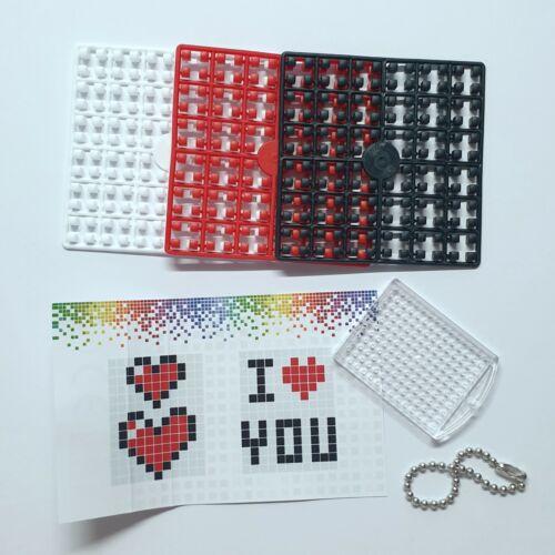 Pixelhobby Pixel Keyring Set Kit Mosaic Inc Keyring Chain Childrens Party School