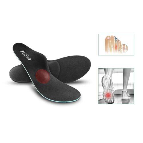 PCSsole pie plano alto ortopédico para pie plantilla soporte ortopédico con