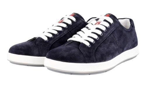 Scarpe Sneaker Nuovo 43 blu 43 43 4e2552 Prada lusso di 5 Camoscio Nuovo  nnRxrwZqf 6f07665936f