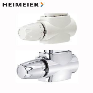 Heimeier Multilux 4 - Set weiss oder chrom Mittelanschluss für Badheizkörper