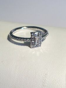 5b47d7ca9 Image is loading GENUINE-PANDORA-Luminous-Ice-Ring-197541CZ-FREE-DELIVERY
