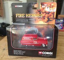 CORGI FIRE HEROES CS90014 PONTIAC NEWARK FIRE SUPPORT VAN MIB