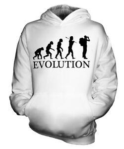 ABENTEUER EVOLUTION DES MENSCHEN KINDER KAPUZENPULLOVER HOODIE JUNGEN MÄDCHEN