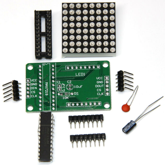 MAX7219 Dot  Matrix Module MCU control Led Display Module DIY kit For Arduino