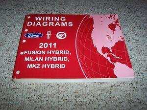 2011 Lincoln MKZ Hybrid Electrical Wiring Diagram Manual 2 ...