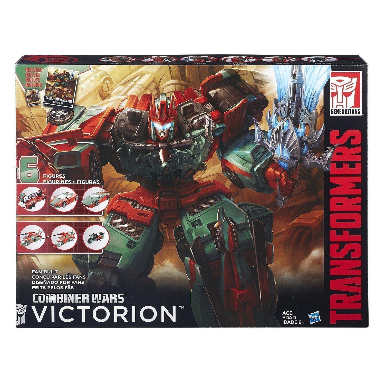 HASBRO TRANSFORMERS GENERATIONS COMBINER WARS VICTORION 6 FIGURES SET