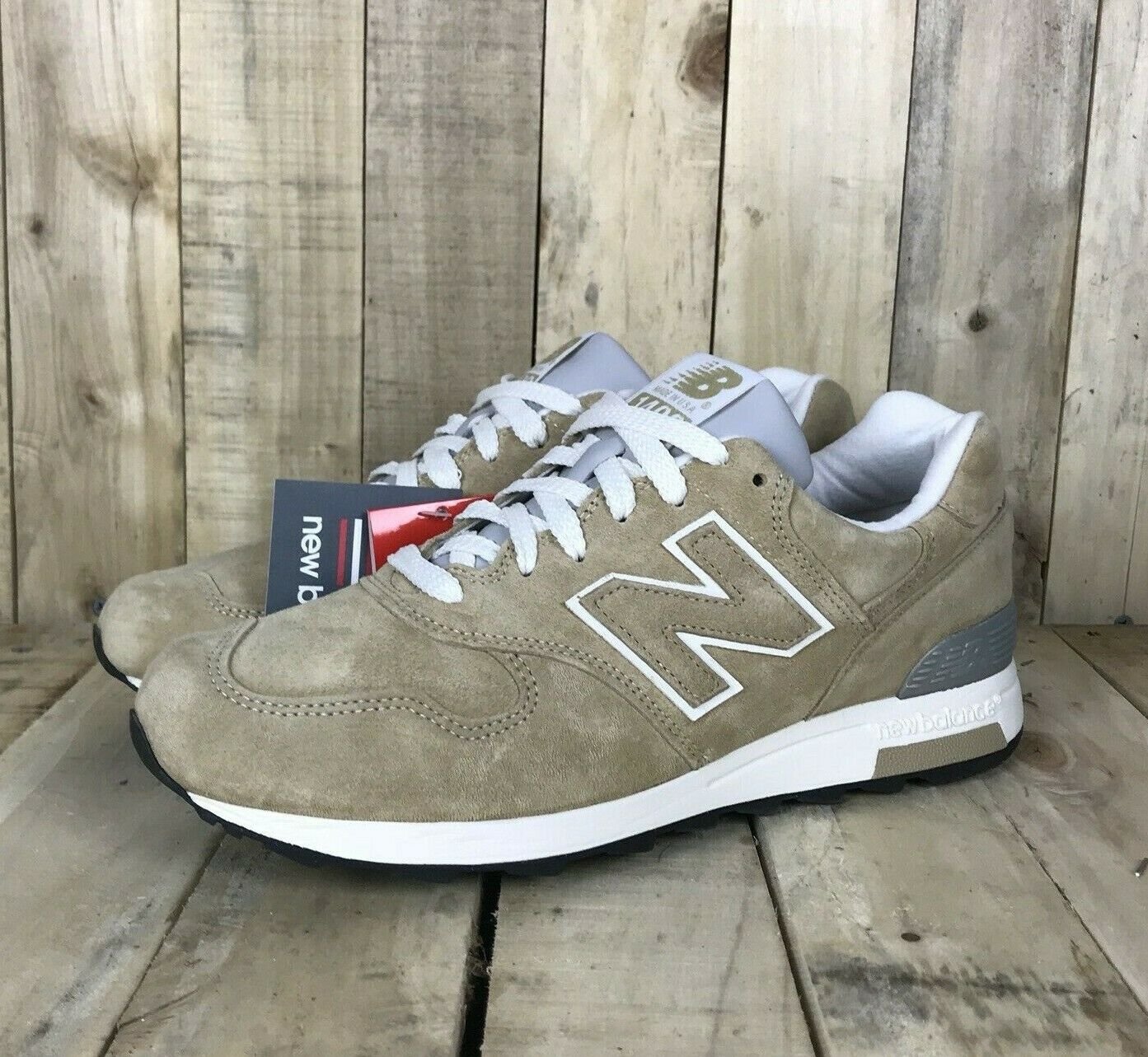 nouveau   1400 classique beige chaussures en daim made in USA Homme Taille 9.5 NEUF